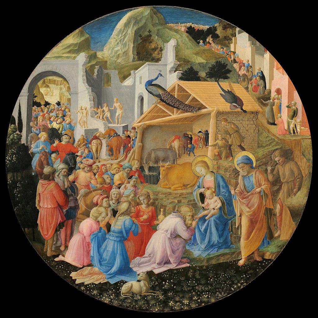 Müneccim Krallar, Fra Angelico ve Filippo Lippi