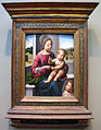 Fra bartolomeo, madonna col bambino e san giovannino, 1497.JPG