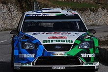 Una Focus WRC del Team Stobart