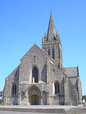 Montebourg - The church of Saint Jacques