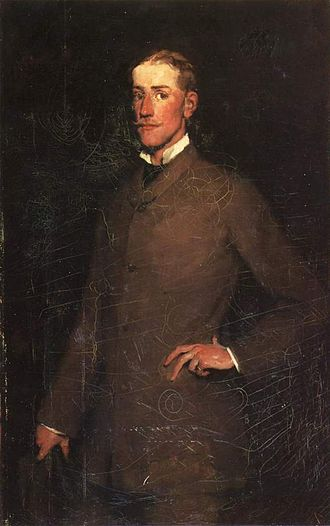 Ralph Wormeley Curtis - Ralph Curtis (1878);  portrait by Frank Duveneck.
