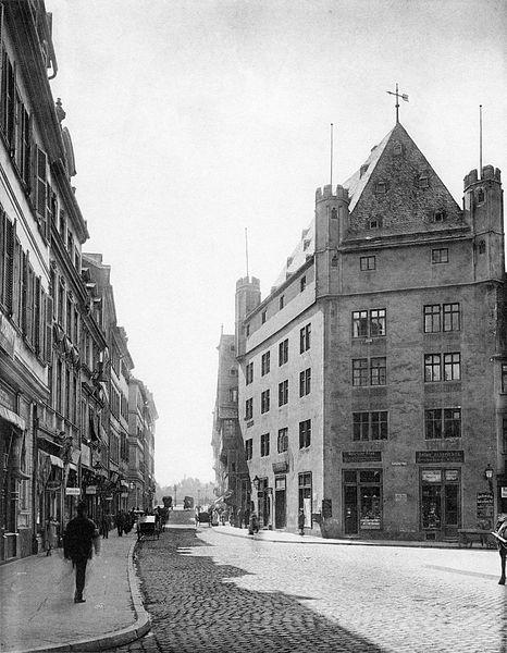File:Frankfurt Am Main-Fay-BADAFAMNDN-Heft 16-Nr 189-1904-Fuersteneck Fahrgasse.jpg