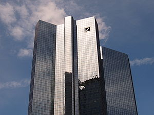 Deutsche Bank Twin Towers - Image: Frankfurt Deutsche Bank