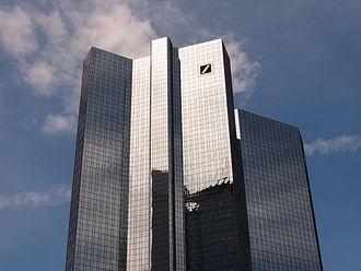 Deutsche Bank Twin Towers - Image: Frankfurt Deutsche Bank