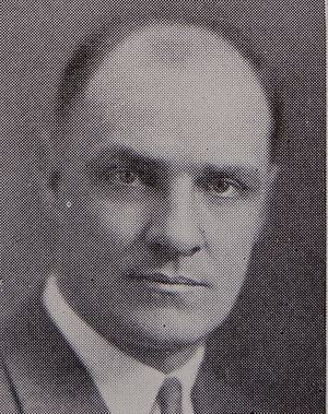 Frank L. Hayes - Hayes from the 1925 Michiganensian