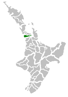 Former territorial authority in New Zealand
