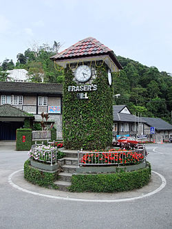 Fraser's Hill Clock Tower.JPG