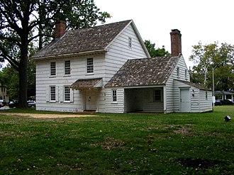 Hankinson–Moreau–Covenhoven House - Image: Freehold NJ Hankinson Moreau Covenhoven House
