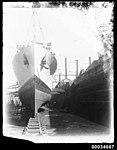 French warship BELLATRIX in Morts Dock in Balmain, 1930-1932 (7633509320).jpg