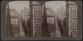 From Empire Building (n.) past Trinity Church steeple, up Broadway, New York, U. S. A., by Underwood & Underwood.png