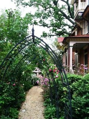 Mount Hope (Falls Church, Virginia) - Image: Front walkway to Mt. Hope