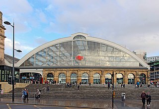 main station serving the city centre of Liverpool in the UK