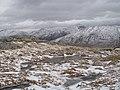 Frozen bogs near the summit of An Grianan - geograph.org.uk - 740683.jpg