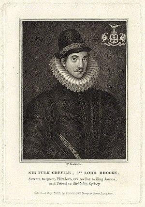 Burnet Reading - Image: Fulke Greville, 1st Baron Brooke of Beauchamps Court by Burnet Reading