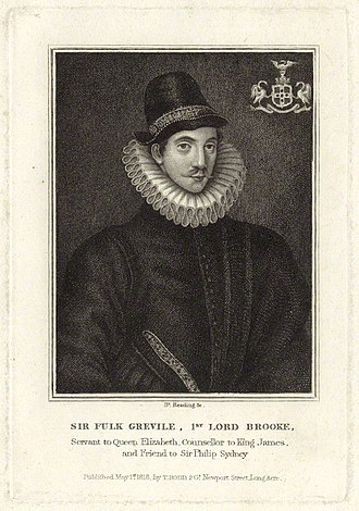 Burnet Reading - Image: Fulke Greville, 1st Baron Brooke of Beauchamps Court by Burnet Reading