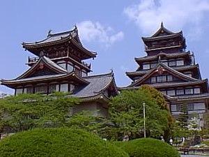 Fushimi Castle - Image: Fushimi momoyaja jyou 1