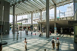 Futako-Tamagawa Station East Entrance 2018.jpg