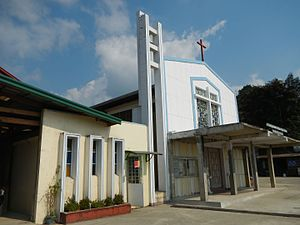 Benguet - Immaculate Conception Parish Church in Sablan