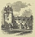 Fyvie Castle The Courtyard and Modern Entrance 1852.jpg