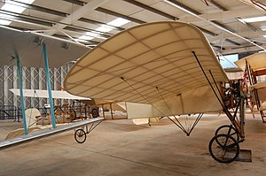 Airworthiness - Blériot XI, civil registration G-AANG. Built in 1909 and operated by the Shuttleworth Collection in the United Kingdom, this is the world's oldest airworthy aircraft