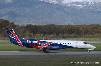 Eastern Airways - An Eastern Airways Embraer ERJ-135