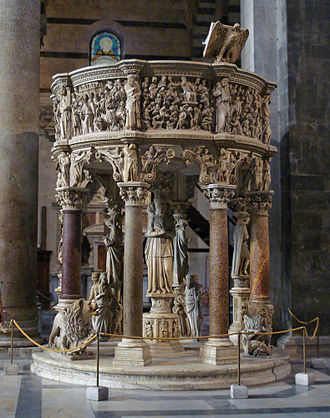 Giovanni Pisano - The pulpit of Pisa Cathedral