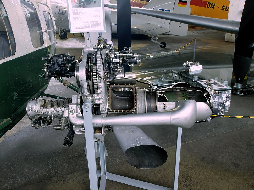GTD-350 Mil Mi-2 helicopter engine