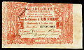 GUA-A15-Guadaloupe Tresor Colonial Bons de Caisse-1 franc (1863).jpg