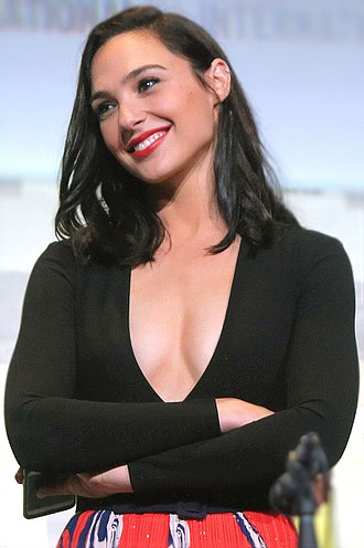 Gal Gadot - Gadot at the 2016 San Diego Comic-Con panel for Justice League