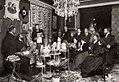 Galdós por Franzen Tertulia literaria 1897.jpg