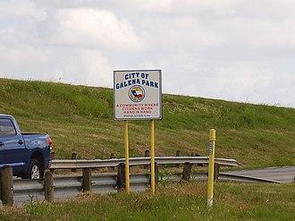 Galena Park, Texas - Galena Park sign