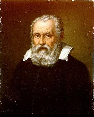 Domenico Passignano - Portrait of Galileo Galilei.