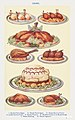 Game- Barded Partridges, Roast Partridges, Surrey Fowls, Roast Plovers, Stuffed Capon à la Mayonnaise, Roast Gosling, and Roast Pigeons from Mrs. Beeton& -39;s Book of Household Management. Digitally enhanced from our own 1923 edition.jpg