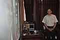 Ganga Singh Rautela Skyping With Natalie Batalha - Professional Enrichment Programme On Astronomy Awareness - NCSM - Kolkata 2011-09-20 5349.JPG