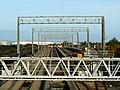 Gantries, St Andrew's Road station, Avonmouth - geograph.org.uk - 621624.jpg