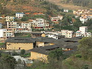 Gaotou - seen from S319 SE of town - DSCF3157.JPG