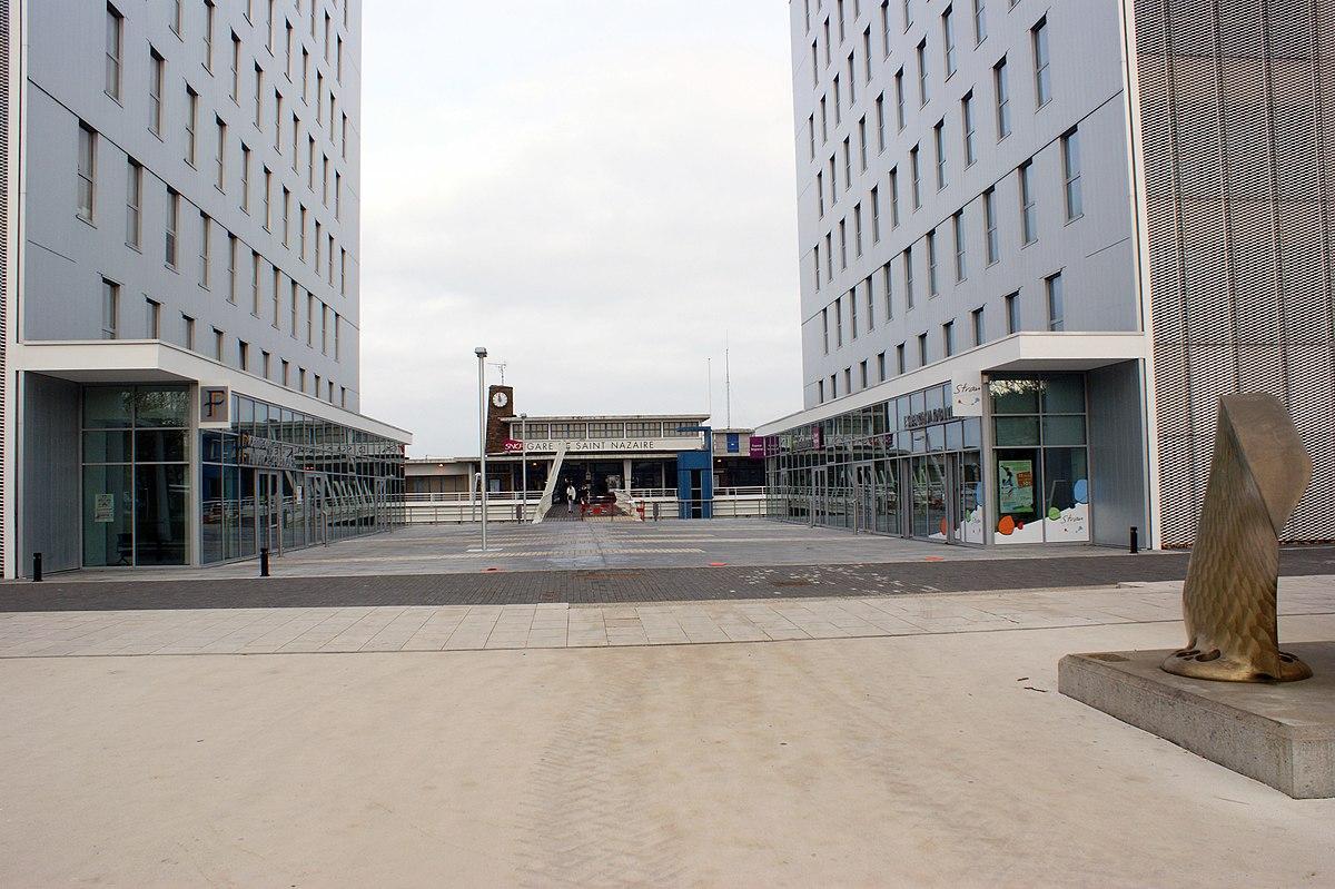 Gare de saint nazaire wikip dia for Bureau plus st nazaire