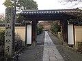 Gate on Sando of Ryoanji Temple.JPG