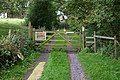 Gate to Greenthorn Farm - geograph.org.uk - 548406.jpg