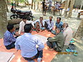 Gathering in a meeting of villagers in an Bangladeshi village 2015 38.jpg