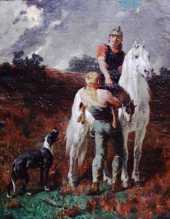 Gaul Returning from Hunting