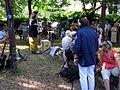 Gedenkfeier am Hinrichtungstag und -ort von Maximilian Dortu auf dem Alten Wiehre-Friedhof in Freib.jpg