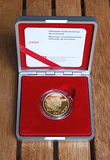 Gedenkmünzen Der Schweiz Wikipedia