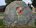 Gedenkstein für die toten Feuerwehrkameraden in Ebenthal, Klagenfurt Land, Kärnten.jpg