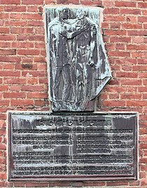 Gedenktafel Landhausstr 26 (Wilmd) Birger Forell.JPG