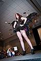 Geek Fashion Show 2013 - DameFatale by Annissë Designs - Amanda Lynne (8844810231).jpg