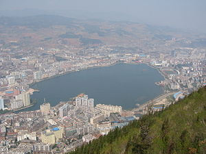 Gejiu - Gejiu from the southeast