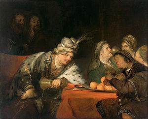 Aert de Gelder -  Aert de Gelder, The Banquet of Ahasuerus