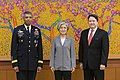 Gen. Brooks, Chargé d'Affaires Knapper, Minister Kang Meet for First Time 170621-A-HU462-038.jpg