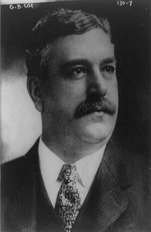 George B. Cox - George Cox in 1911.